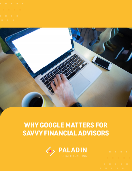 eBook Cover - Why Google Matters for Savvy Fin Adv